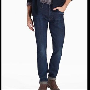 Lucky Brand 1 Authentic Skinny dark wash jeans